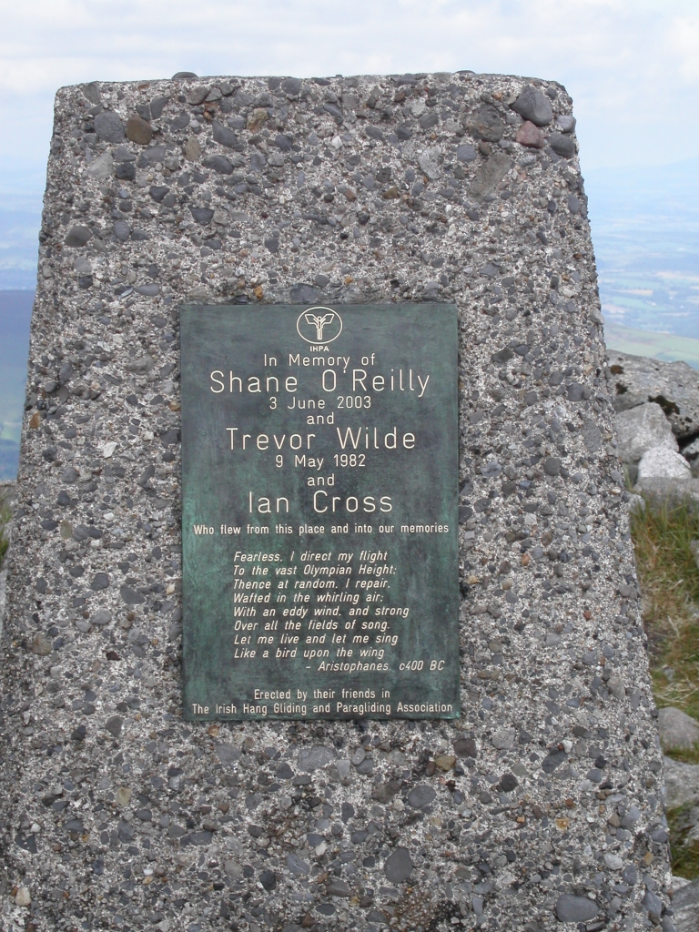 Mt. Leinster memorial